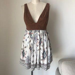 [LF] Printed Midi Dress